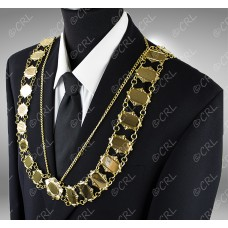 """Civic Chain of Office -  """"President"""" - Style 3"""