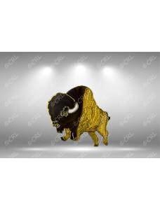 RAOB Mega Buffalo Lapel Pin