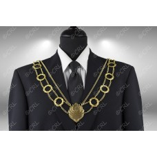 """Civic Chain of Office - """"Wreath"""" - Style 14"""