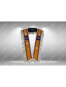 Loyal Orange Lodge Standard Collar (Purple Degree)