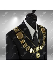 "Civic Chain of Office - ""Officer"" - Style 2"