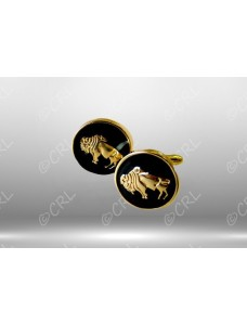 RAOB Buff on Black Cuff Links